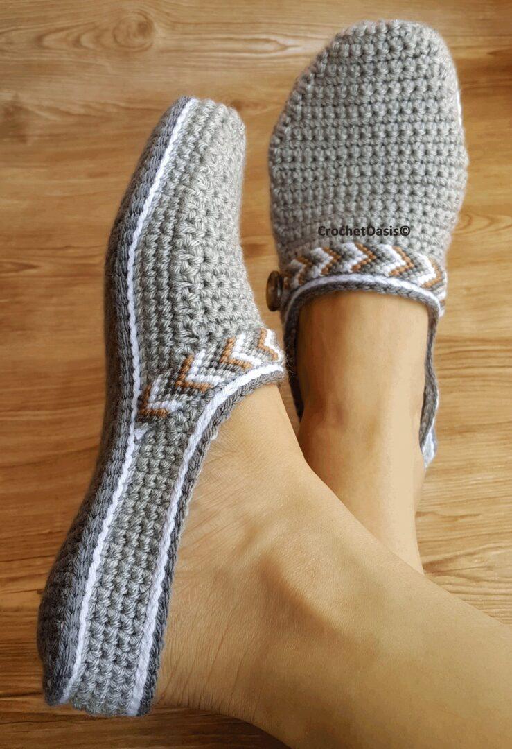 Pattern in crochet