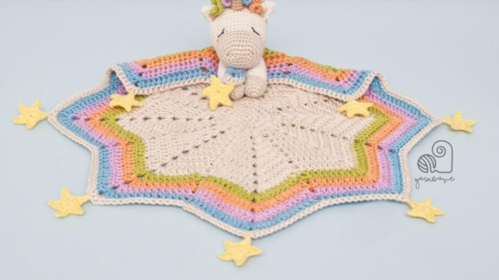 How to make a unicorn in crochet