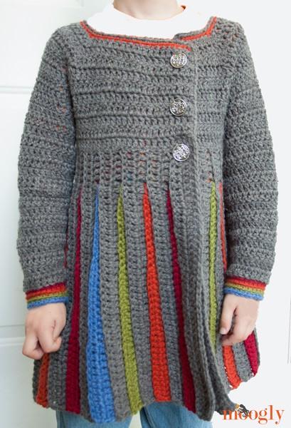 Tutorial in crochet Moleton girl dress