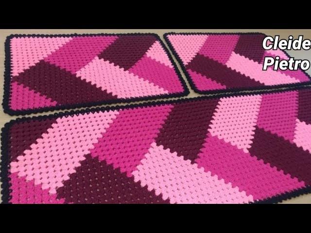 Crochet Patchwork Kitchen Game