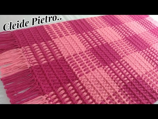 Braided Crochet Rug